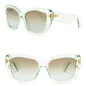 Kate Spade Andris 54mm Cat Eye Sunglasses Green